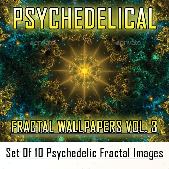 HD Psychedelic Fractal Wallpapers Vol. 3
