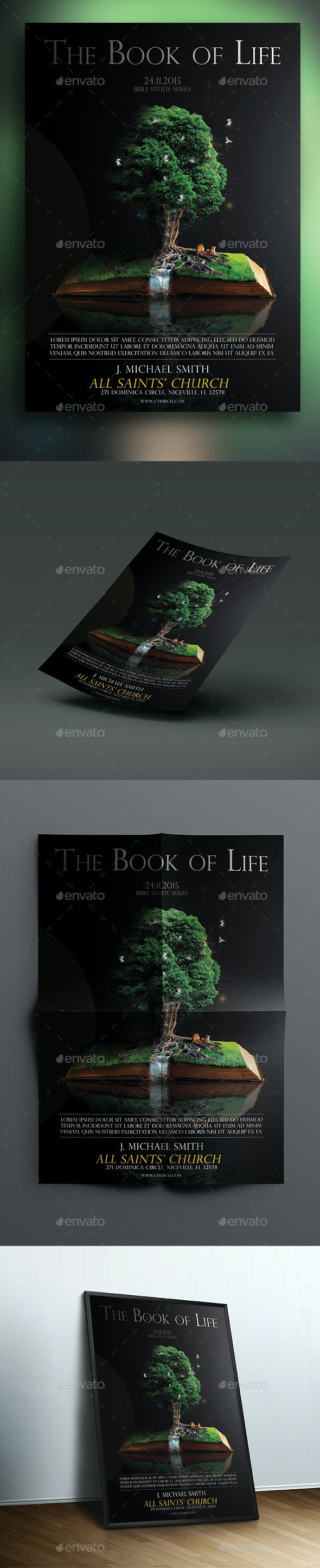 The Book Of Life Vol.2 - Church Flyers