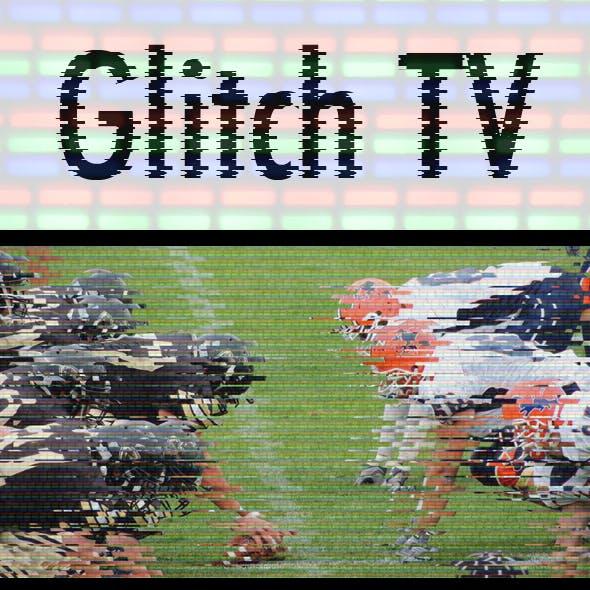 Glitch & TV Effect Photoshop Action