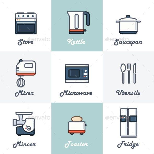 9 Kitchen Icons