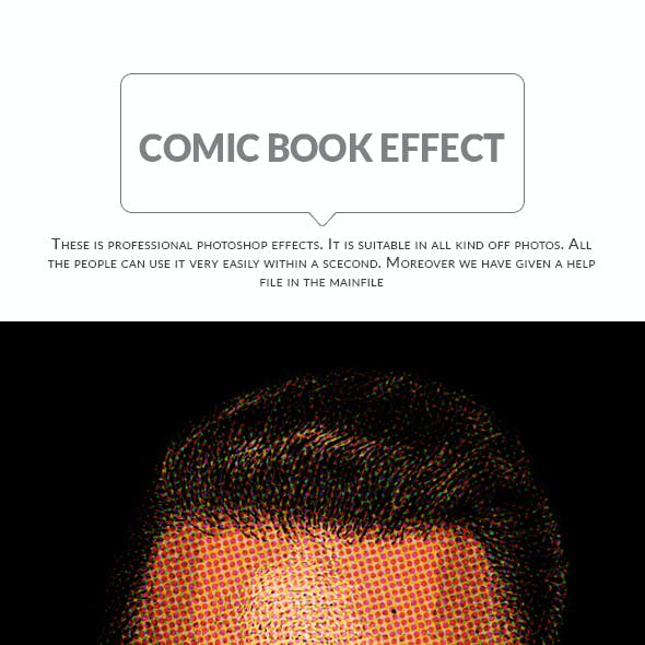 Comic Book Effect