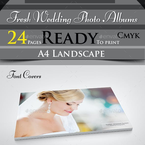 Fresh Wedding Photo Albums