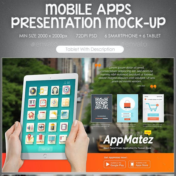 Mobile Application Presentation Mock-Up