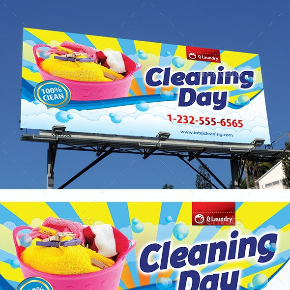 New Laundry Services Outdoor Banner 62