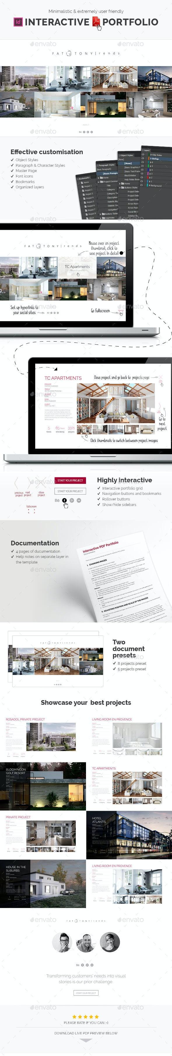 Interactive PDF portfolio - ePublishing
