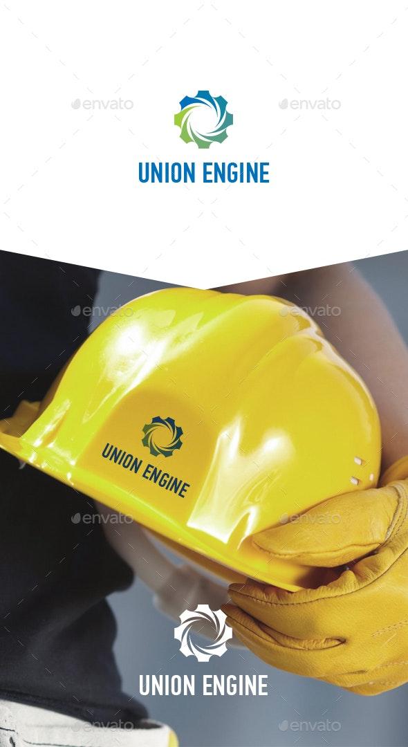 Union Engine Vector Logo - Logo Templates