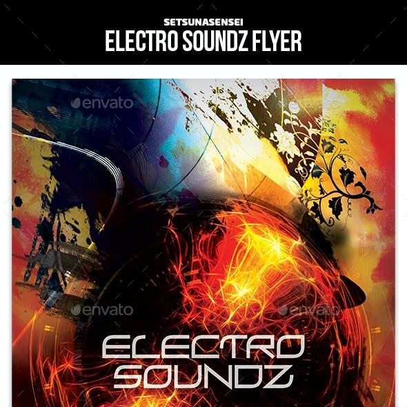 Electro Soundz Flyer