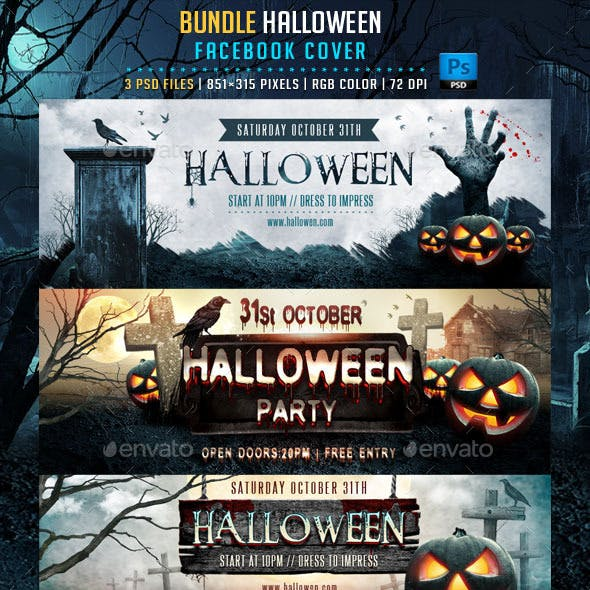 Halloween Bundle Facebook Cover