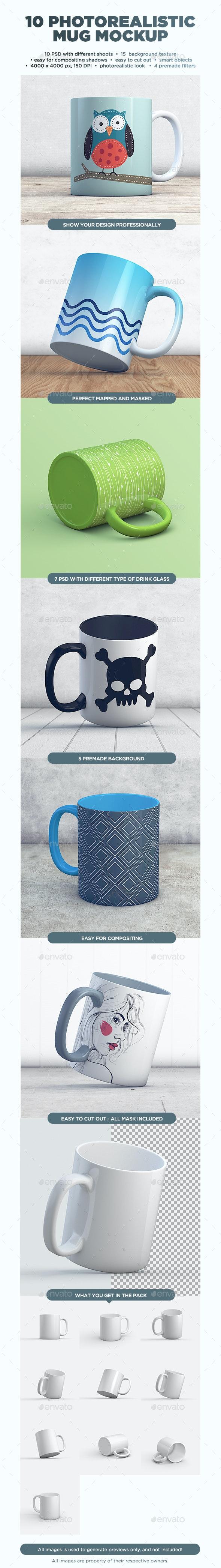 Mug MockUp vol.2 - Food and Drink Packaging