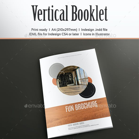 Vertical Booklet