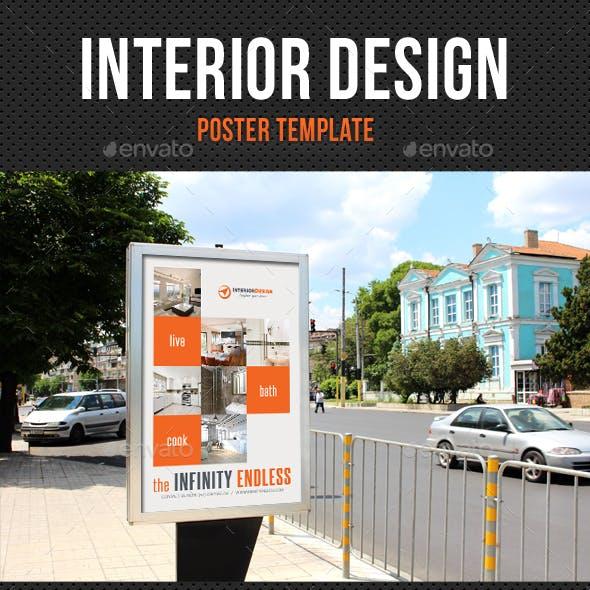 Interior Design Poster Template V01