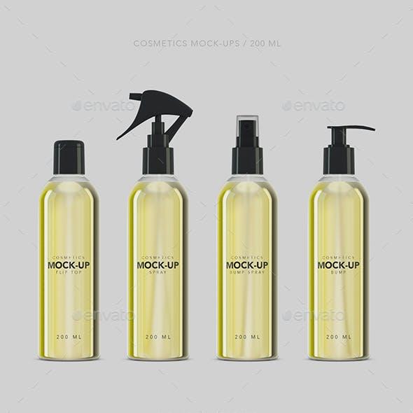 Cosmetics Mockup