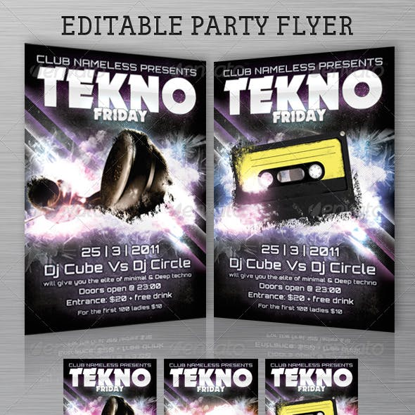 Club / Party Flyer Template