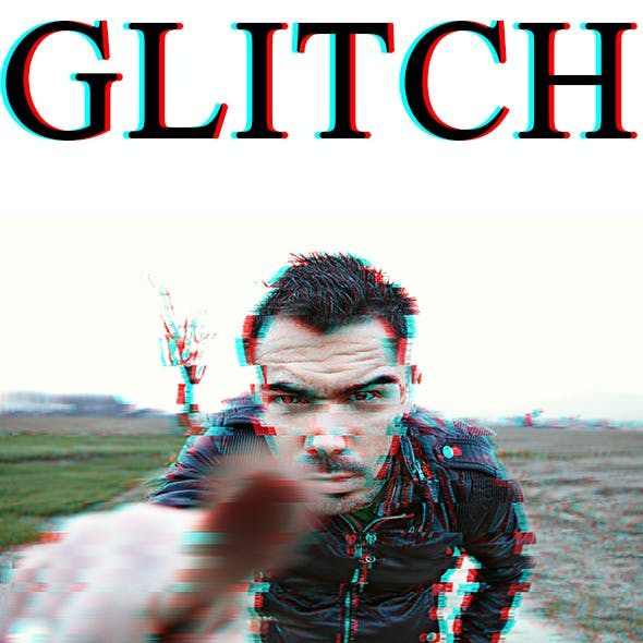 Glitch Photo Effect