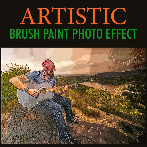 Artistic Paint Photo Effect