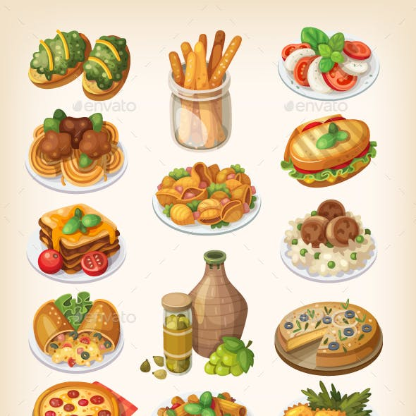 Italian Food and Meals