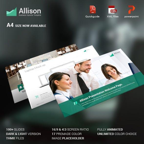 Allison - Creative Powerpoint Template