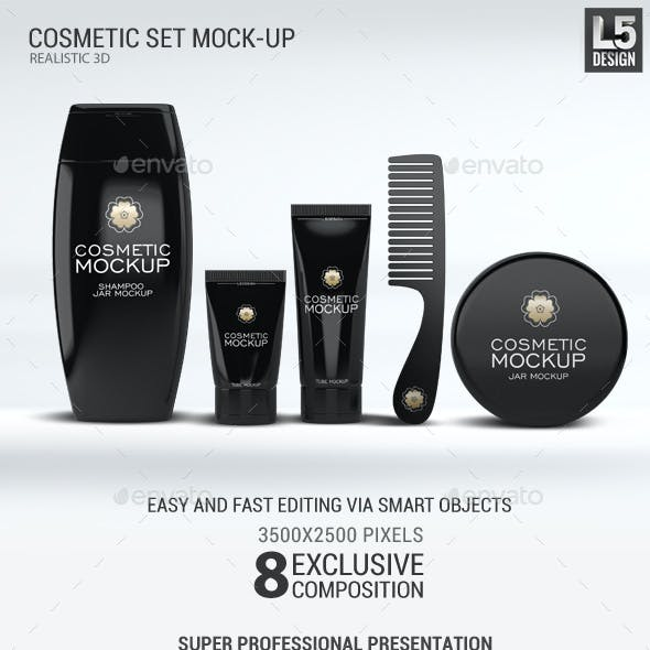 Cosmetic Set Mock-Up