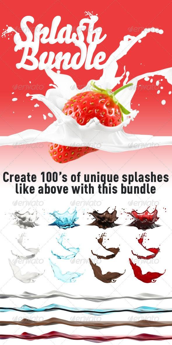 Splash Bundle - Miscellaneous Graphics