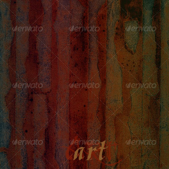 Abstract Art Painting - Paper Collage and Paint