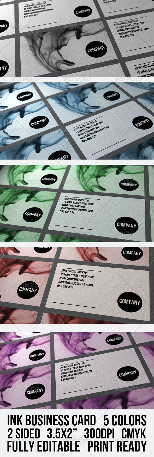 INK BUSINESS CARD - Creative Business Cards
