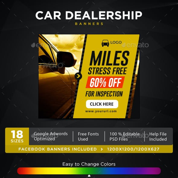 Car Dealership Banners