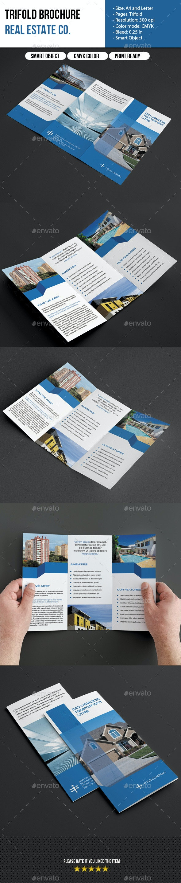 Trifold Brochure-Real Estate - Corporate Brochures