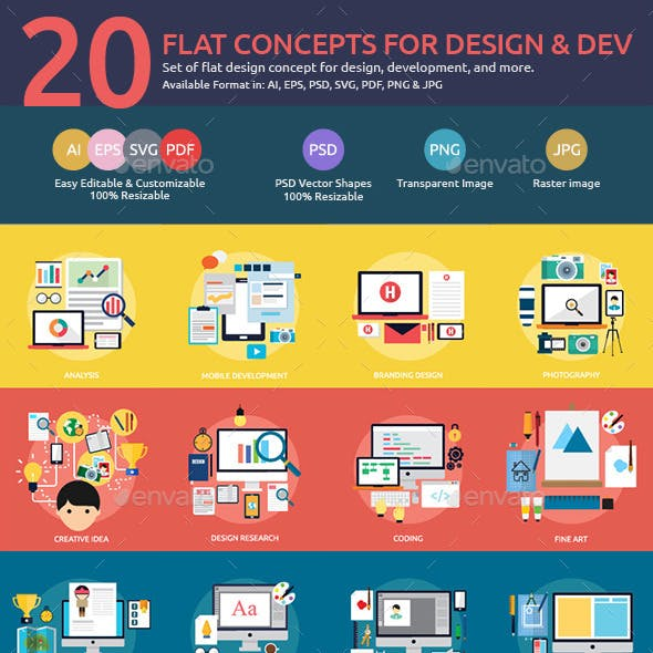 Flat Concepts for Design & Development