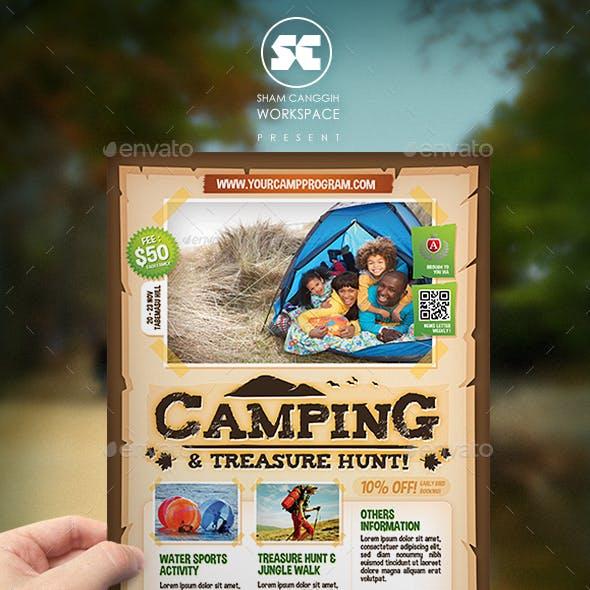 Camping Adventure Flyer / Magazine Ads