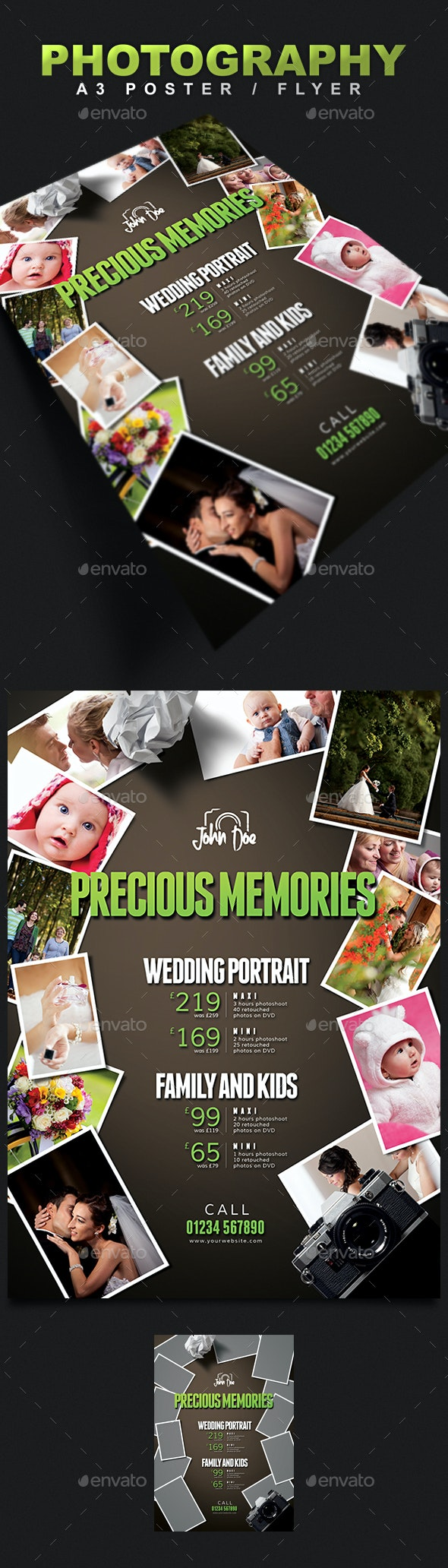 A3 Photography Poster / Flyer - Corporate Flyers