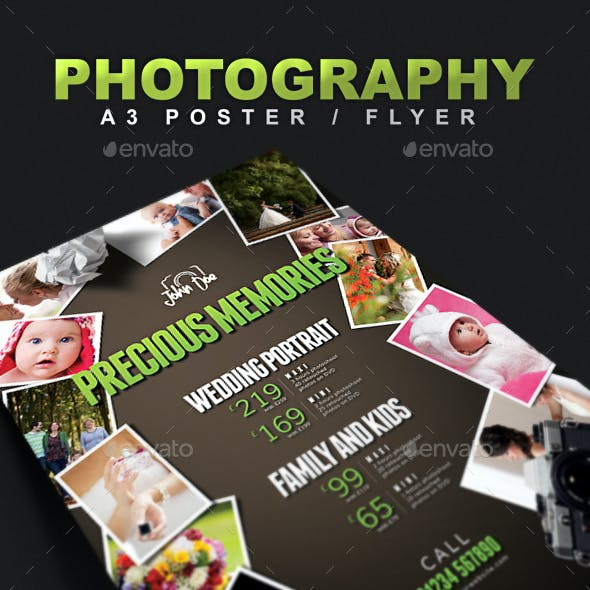 A3 Photography Poster / Flyer