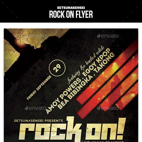 Rock On Flyer