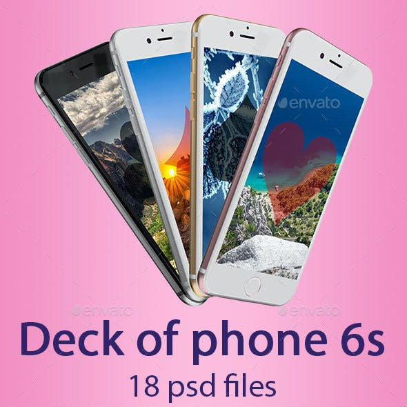 Deck of Phone 6S