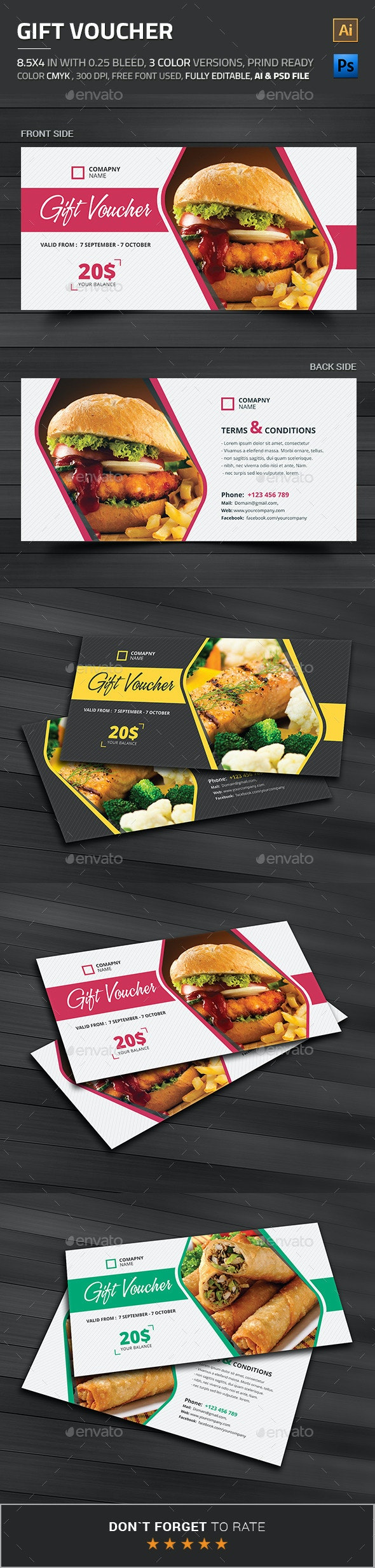 Gift Voucher - Loyalty Cards Cards & Invites