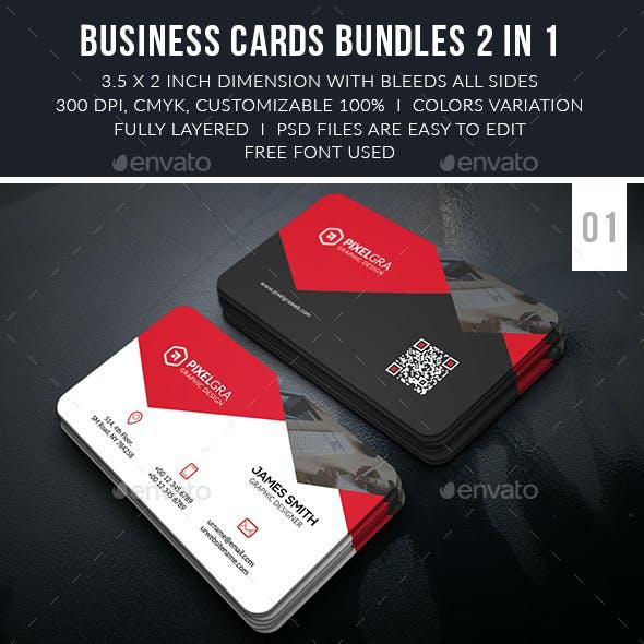 Professional Business Cards Bundle