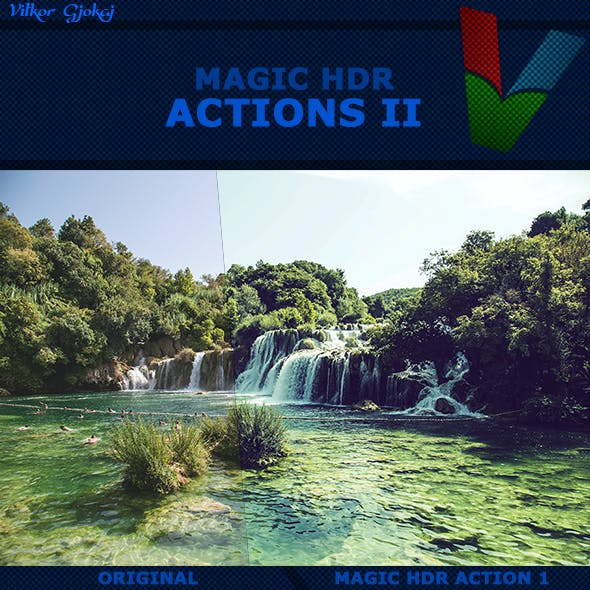 50 Magic HDR Actions II
