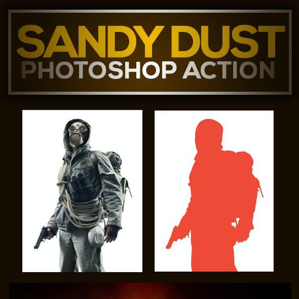 Sandy Dust Photoshop Action