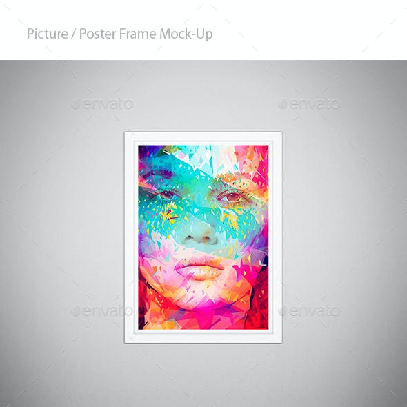 Picture / Poster Frame Mock-Up