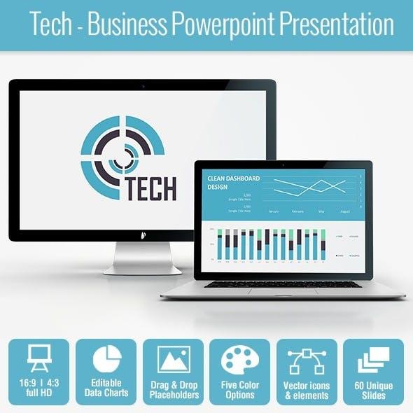 Tech - Business Powerpoint Presentation
