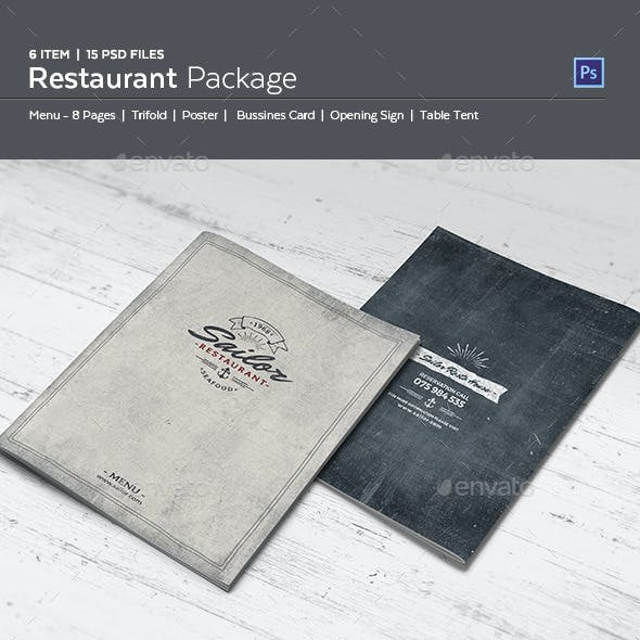 Sailor Restaurant Package