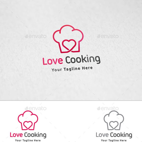 Love Cooking Logo