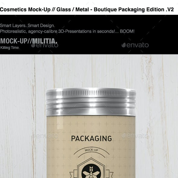 Cosmetics | Grooming Kit | Toiletries | Mock-Up | 2