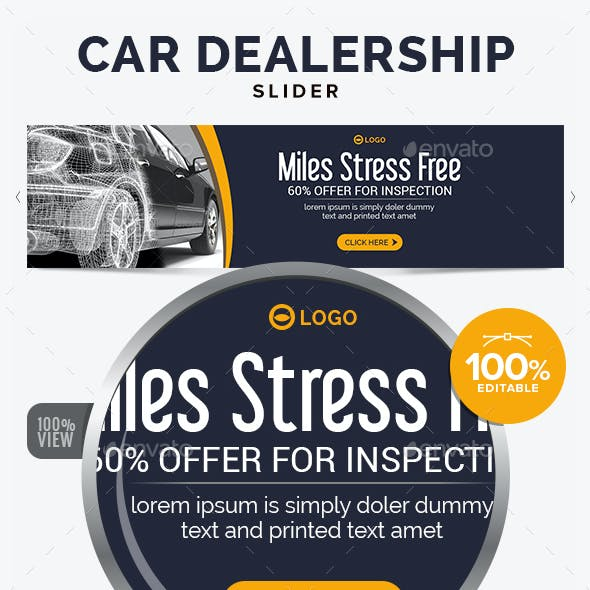 Car Dealership Slider