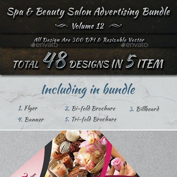 Spa & Beauty Salon Advertising Bundle | Volume 12