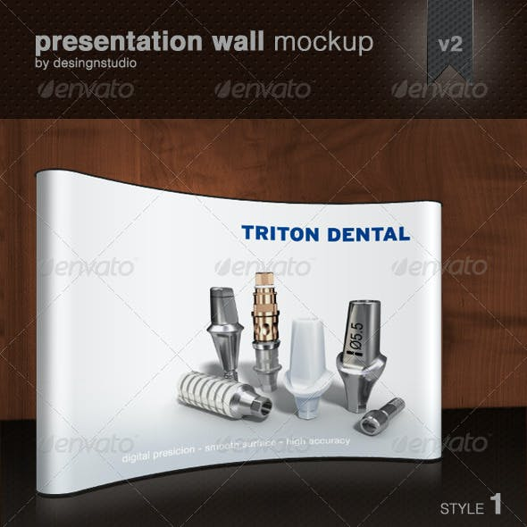 Presentation Wall Mock-Up