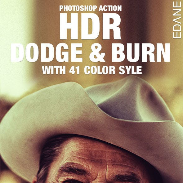 41 HDR Dodge & Burn Color Style