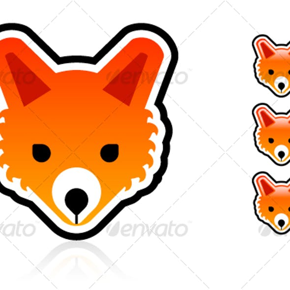 Vector Fox Character