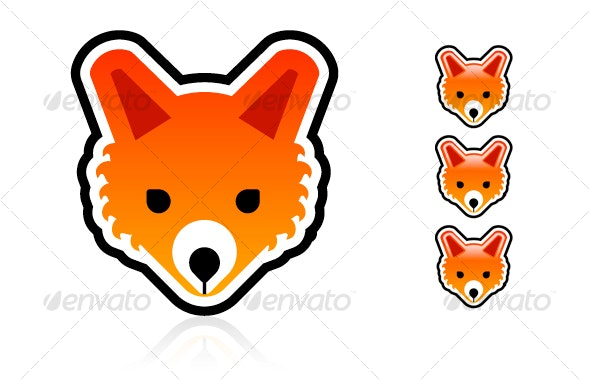 Vector Fox Character - Characters Vectors