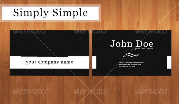 business card with a vintage design - Corporate Business Cards