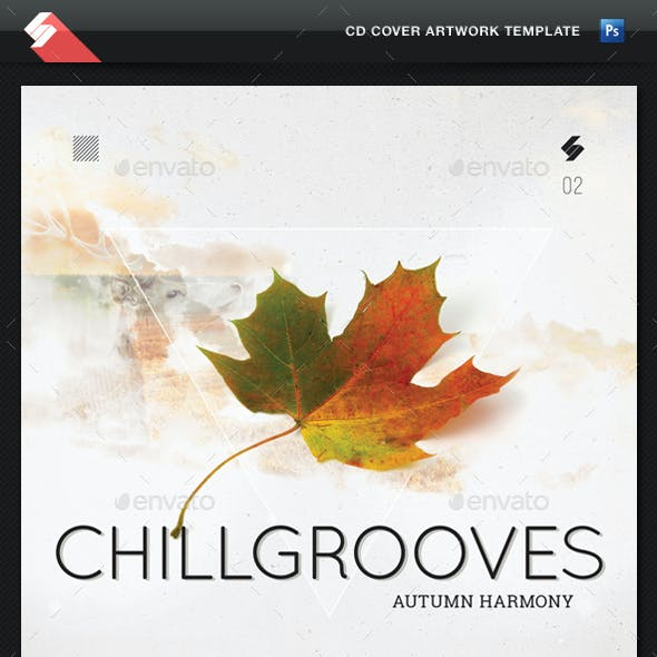 Chill Grooves 2 - CD Cover Artwork Template